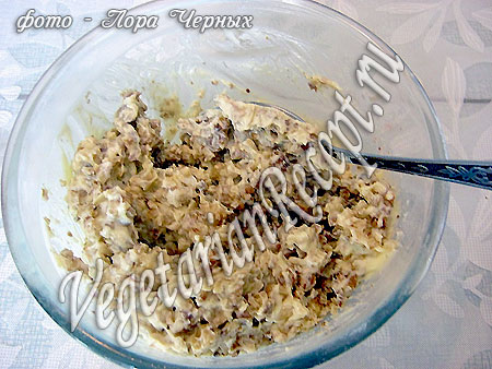 Крем с орехами (фото)