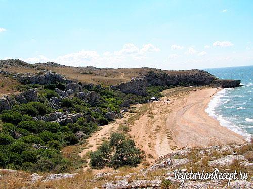Крымское побережье. Фото.