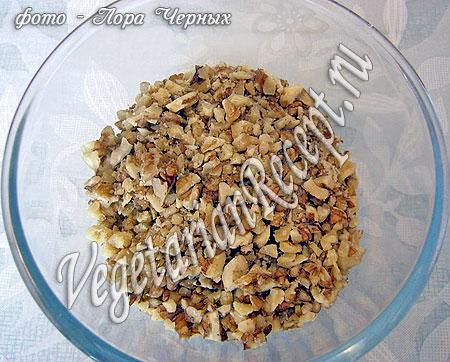 Рубленные грецкие орехи (фото)