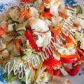 Осенний салат с цветной капустой (фото-рецепт)