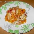 Запеченная тыква с яблоками (фото-рецепт)
