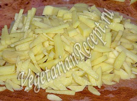 Картофель для салата с гранатом