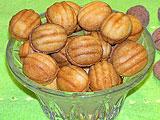Орешки со сгущенкой (рецепт)