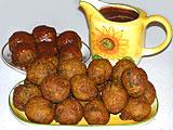 Овощные шарики из цветной капусты и картофеля (рецепт)