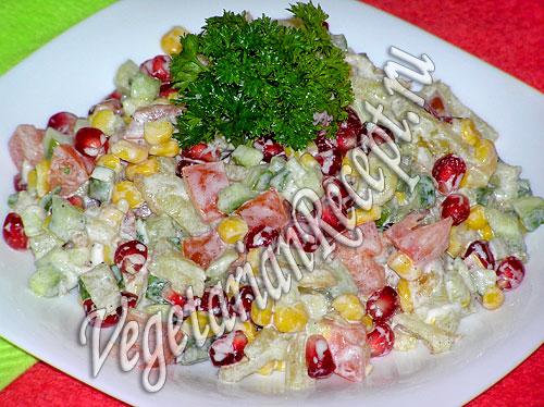 салат радуга с картофелем рецепт фото