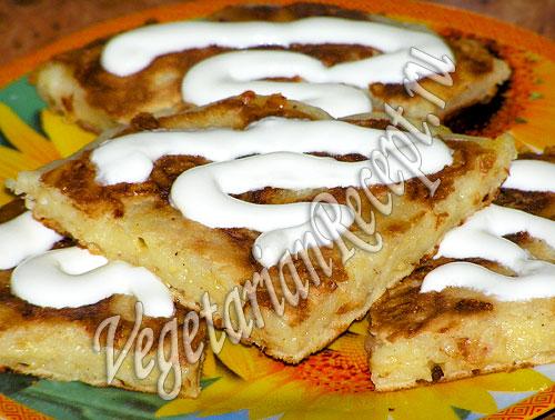 Сырная лепешка (фото-рецепт)