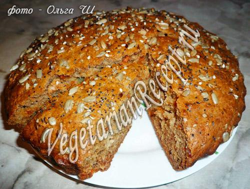 тыквенный (морковный) пирог рецепт