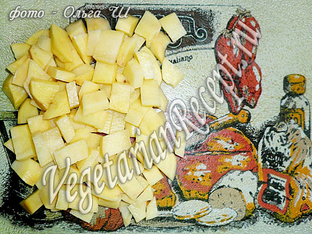 Суп-пюре из свеклы - картофель
