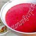 Суп-пюре из свеклы (фото-рецепт)