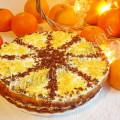 Апельсиновый бисквит без яиц