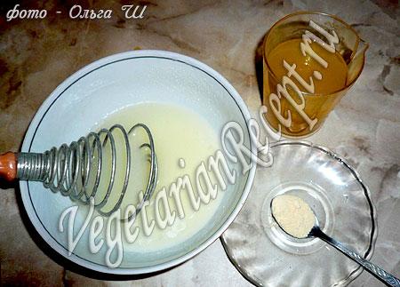 Апельсиновый бисквит - приготовление теста без яиц