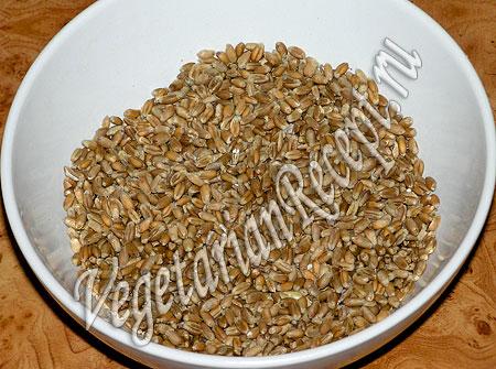 Пшеница для Рождественской кутьи