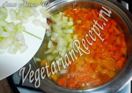 суп с сельдереем рецепт