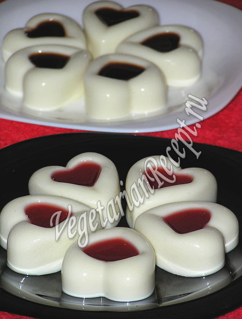 панакота десерт из молока рецепт