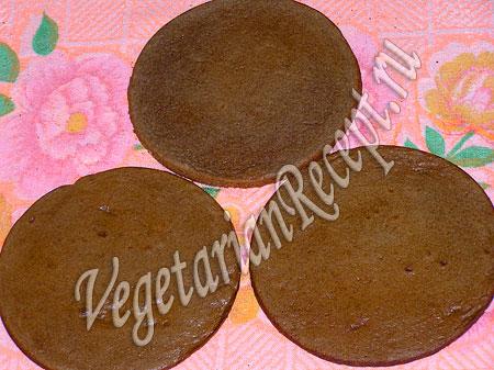 Коржи со сгущенкой для торта