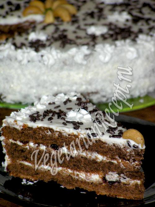 кулинария.торт из венских коржей.фото рецепт