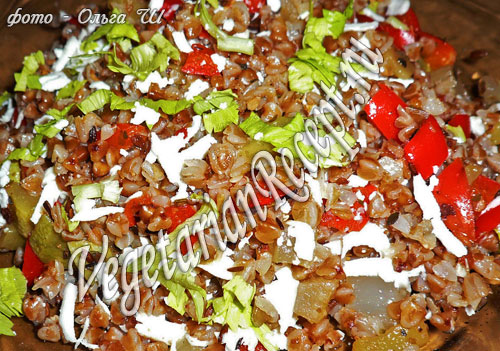 Гречка с овощами (фото-рецепт)