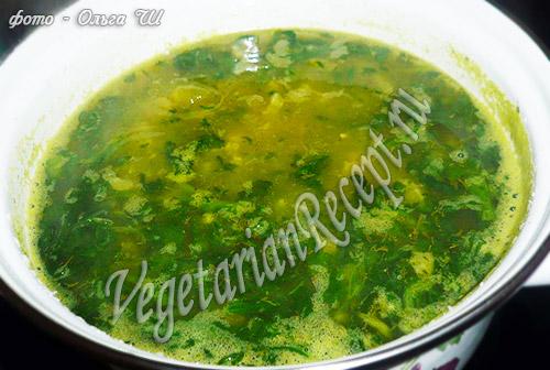 суп с горохом - рецепт