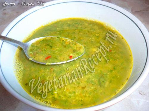 Суп с машем рецепт