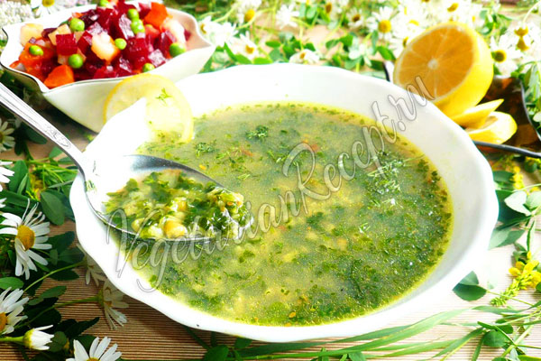 Суп с машем - рецепт