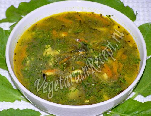 суп из щавеля рецепт с фото