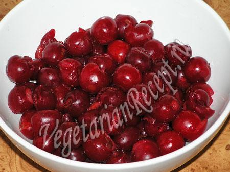 вишни без косточек для вареников