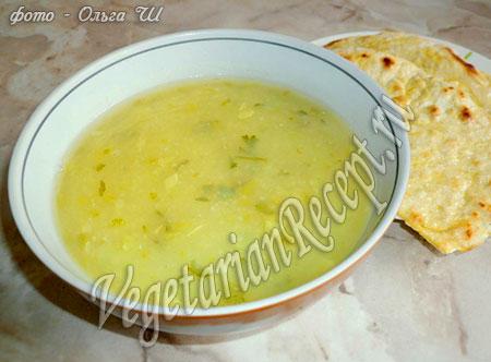 постный суп-пюре из кабачков