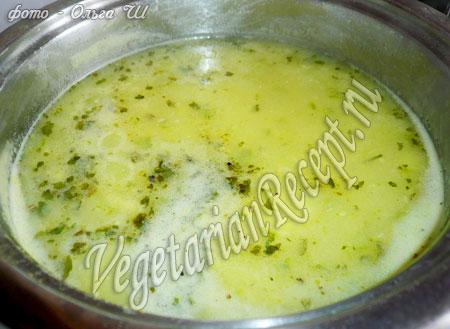 рецепт супа пюре из кабачков