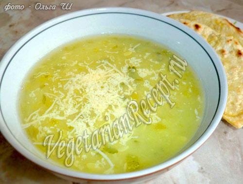 суп пюре из кабачков рецепт с фото