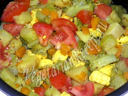 тушение овощей в мультиварке