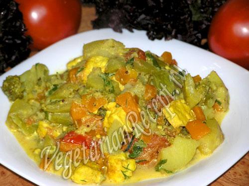 Рецепты тушеных овощей в мультиварке