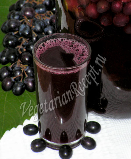 компот из винограда на зиму