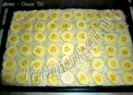 тесто с бананами