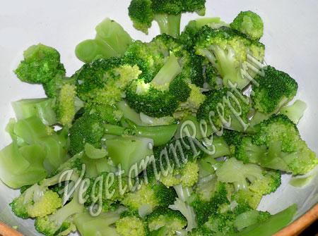 отваренная брокколи для салата