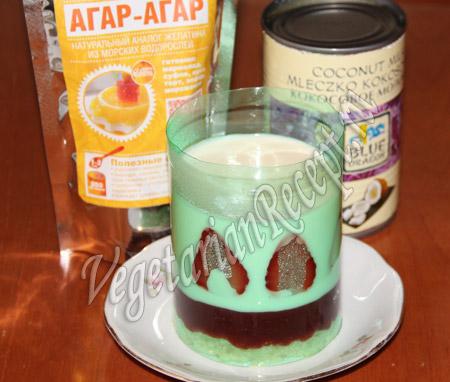 десерт на агар-агаре