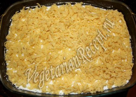 пирог с творожно-фруктовой начинкой - рецепт
