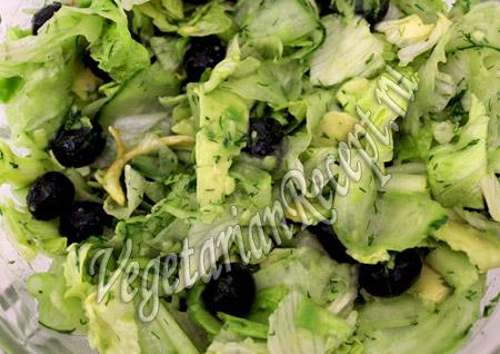 салат с авокадо и огурцом рецепт