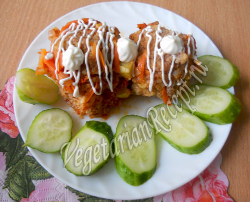 вегетарианские тефтели - рецепт