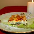 Запеченный картофель со шпинатом и сыром