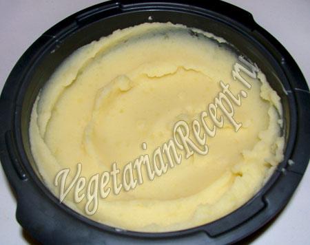 Запеканка картофельное пюре