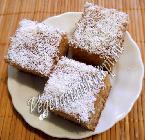 кокосовое пирожное