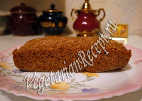 бездрожжевой хлеб на закваске с пророщенной пшеницей