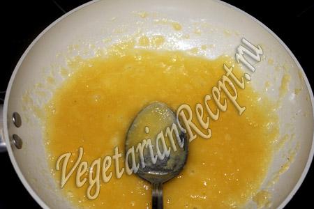 обжаренная мука для сырного соуса