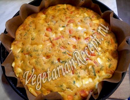 гороховый пирог рецепт