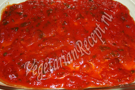 слой томатного соуса