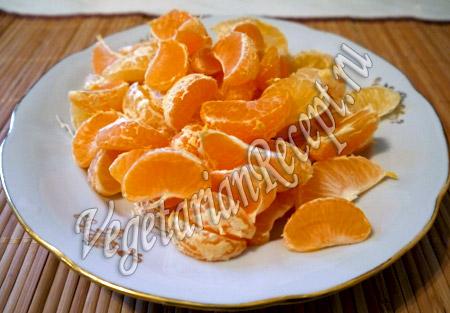 мандарины для кекса