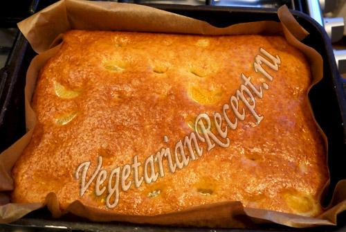 кекс с мандаринами рецепт