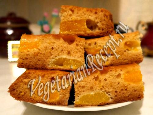 кекс с мандаринами