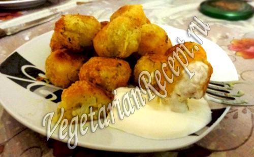 картофельные зразы с цветной капустой