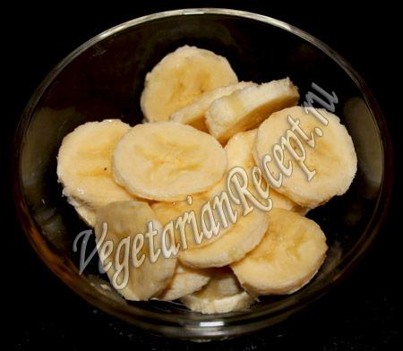 бананы для молочного десерта